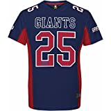 Majestic NFL Mesh Polyester Jersey Shirt - New York Giants, Größe XX-Large, Farbe blau