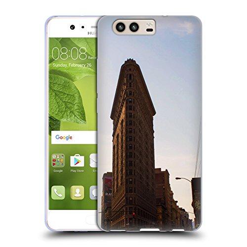 Flat Iron NY Orte 4 Soft Gel Hülle für Huawei P10 (Flat Iron Gel)