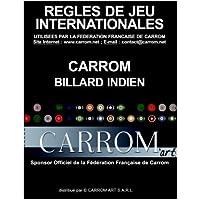 Carrom Art - Livre des règles de jeu Carrom