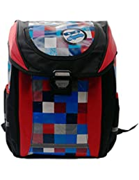 Bagzar Cool Fashionable Backpack For School & College Checks Pattern With Adjustable Strap For Girls And Boys...