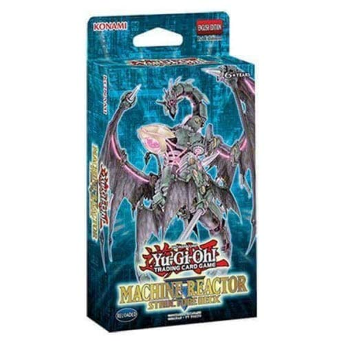 Yu-Gi-Oh! TCG Machine Reactor Structure Deck [UK-Import] - Machina Structure Yugioh Deck