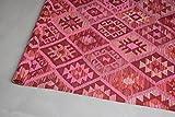 THE KNOTS Handgemachter Kelim-Teppich Shazahir Kilim #40 100% Schur-Wolle - 221 x 181 cm - Teppich, Kelim, Kilim …