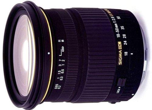 Sigma 18-50mm 2,8 EX MACRO DC HSM Objektiv für Nikon