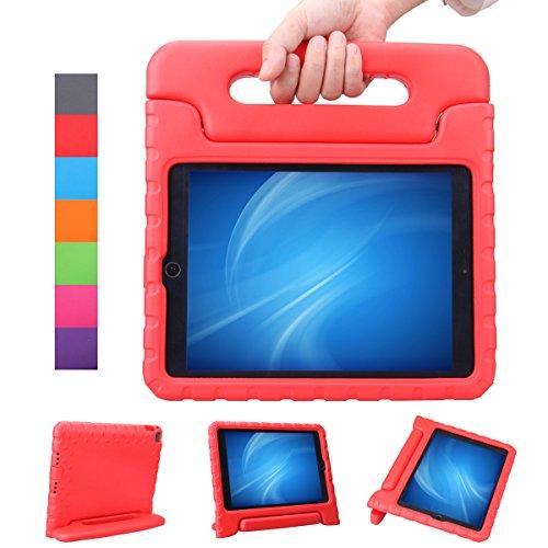 NEWSTYLE Apple iPad Air 2 / iPad 6 Funda para niños EVA antichoque ligera destinado a prueba de golpes Protección Funda Tapa - Rojo