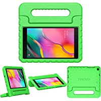 TiMOVO Case for Samsung Galaxy Tab A 8.0 2019 (T290/T295), EVA Kids Shock Proof Convertible Handle Light Weight Protective Cover for Galaxy Tab A 8.0 2019 Tablet - Green