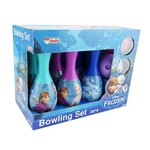Bowling Set Lizens Bowlingset Kegelset Kinder Spiderman Elsa Olaf (Frozen)