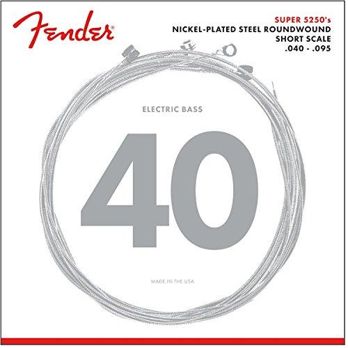 Fender 5250XL Bass-Saiten 040-095 Short Scale (Bass Gitarre Fender 4-string)