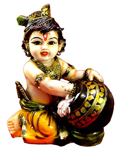 amazing india hand carved baby krishna resin idol sculpture statue size 6.5 inches Amazing India Hand Carved Baby Krishna Resin Idol Sculpture Statue Size 6.5 inches 511c 2BIZ0iLL
