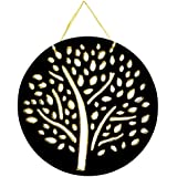 Golden And Black Tree Wall Hangings Wall Décor Wall Sculpture Door Hangings Home Furnitures MDF Wall Art Tabletop Décor Corporate Gifts Wall Accents Wall Hanging Tapestry Handicraft Showpiece