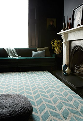 alfombra-moderna-disenador-armel-chevron-alfombra-120x170cm-azul-azul-ar05-microfibra-de-poliester