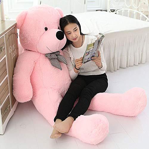 Frantic Premium Quality Huggable Stuffed Teddy Bear in Baby Pink Color - 3 Feet