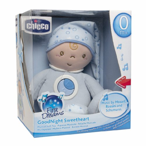 Chicco Goodnight Sweethearts First Dreams, blau einschlafhilfe für Babys - Sweethearts, Goodnight, einschlafhilfen, Dreams, Chicco, blau