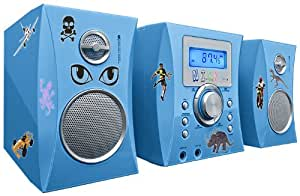 Bigben MCD04 Stereo Music Center CD-Player blau