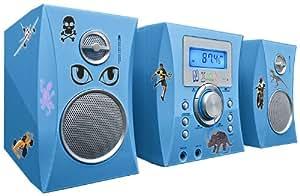 Bigben MCD04 Micro chaîne Lecteur CD Bleu (Import Allemagne)