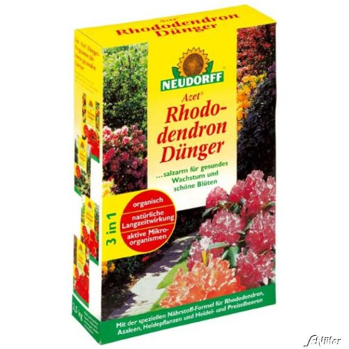 Neudorff Rhododendrondünger Azet RhododendronDünger im Test