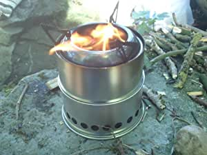 Woodgas Backpacking Stove