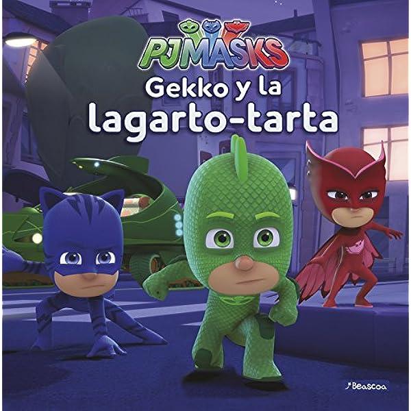 Gekko y la lagarto-tarta (Un cuento de PJ Masks) : Varios ...