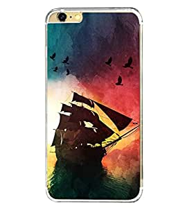 PrintVisa Designer Back Case Cover for Apple iPhone 6S (Accessories Ethnic art silk pattern)