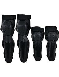 Ubesta Protections tibias-genoux et bras-coudes pour moto