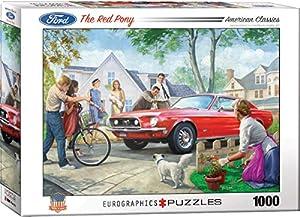 Eurographics 6000-0956 - Puzle de 1000 Piezas, diseño de Pony Rojo