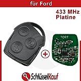 Ford Funkschlüssel Fernbedienung 433 MHz Platine Auto Mondeo Focus Puma Fiesta Neu