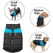 Berry - Chaquetas de abrigo para perros de tamaño pequeño, mediano y grande (S - 5XL)
