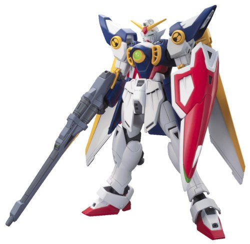 Bandai Hobby # 162 HGAC xxxg-01 W Wing Gundam Model Kit, 1/144 Maßstab (Hg 144 Kits Gundam Model 1)
