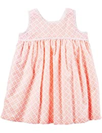 Carters Baby Girls Geo Printed Dress 12 Months