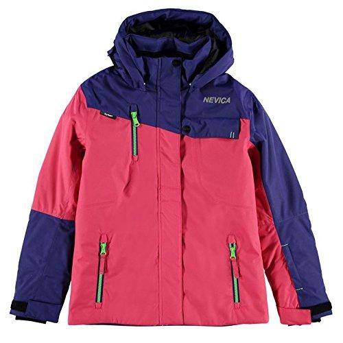Nevica Kids Fiona Jacket Girls Snow Winter Sports Full Zip Hooded Top