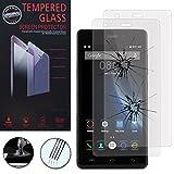 Hcn Phone ® Schutz Folie für Seri Doogee - 2 Filme Tempered Glas, Doogee X5/X5S/X5 Pro