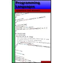 Programming Languages: Questions and Answers (English Edition)