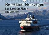 Reiseland Norwegen das Land der Fjorde und Gletscher (Wandkalender 2019 DIN A4 quer): Natur pur...das ist Norwegen, ein beeindruckendes sauberes Land ... (Monatskalender, 14 Seiten ) (CALVENDO Orte) - Klaus Fröhlich