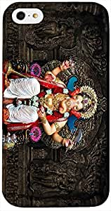 Timpax Light Weight Hard Back Case Cover Printed Design : download s lord ganesha bhagwan.Precisely Design For : Apple iPhone 4 / 4S