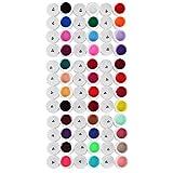 36 Farben Nagelkunst UV Gel reine Farben Design-Auszeichnungen Verlängerungen DIY Tipps Set by DELIAWINTERFEL