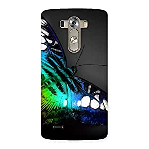 Impressive Butterflie Power Multicolor Back Case Cover for LG G3