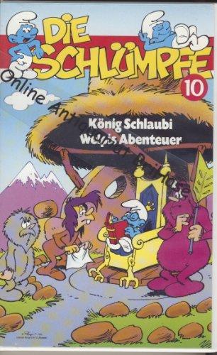 Die Schlümpfe 10 - König Schlaubi / Welpis Abenteuer