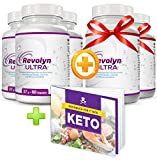 Revolyn Ultra - Diätpille für effektiven Gewichtsverlust | Kaufe 3 Flaschen und erhalte 2 gratis dazu | (5 Flaschen)