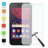 Owbb Protection écran en Verre Trempé pour Alcatel Pixi 4 (4.0Pouces) Smartphone Films de protection Transparents Ultra Clear -A Series