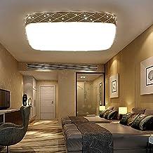 Lámpara de techo 20W 56W 100W LED colgante de cristal de diseño Lámpara de acrílico cristal de incrustaciones 65cm*45cm*10cm