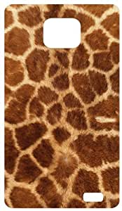 Giraffe Pattern Back Cover Case for Samsung Galaxy S2 / SII / I9100