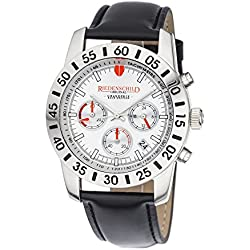 Ried Shield Professional Chronograph Grand Prix Race Edition with Leather Strap-RS1106/01