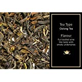 The Kettlery Oolong Tea for Improved Metabolism, 50g (25-35 Cups) | 100% Natural Loose Leaf Tea with Darjeeling Oolong | Wine Like Smoky Undertones | Oolong Tea