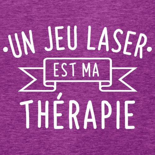 Un jeu laser est ma thérapie - Femme T-Shirt - 14 couleur Rose Antique