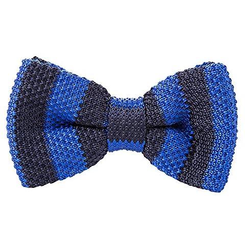 Robelli - Cravate - Homme - bleu - Taille Unique