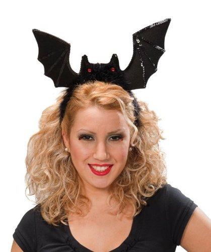 Preisvergleich Produktbild Fledermaus Haarreif Damen Haarreifen Kopfbedeckung Halloween Damen Kostüm Zubehör Accessoire