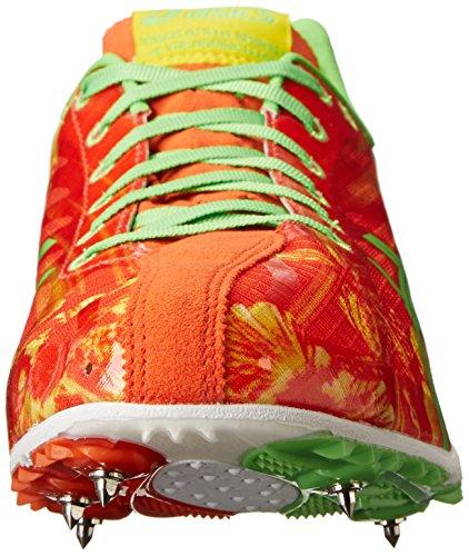 Asics , Chaussures dathlétisme pour homme Red Floral/Flash Green