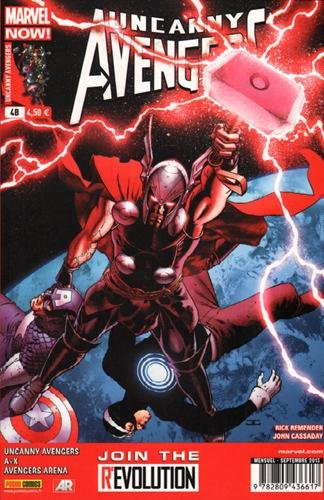 Uncanny avengers 04 cover librairie