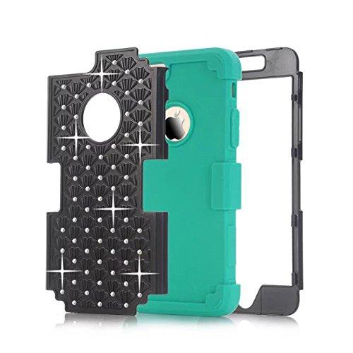 meision Full étoiles iPhone coque iphone Couverture arrière pour femmes Protège/5C pour iPhone 55C 5S/6/6S 6plus