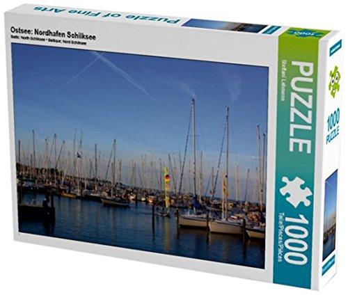 Ostsee: Nordhafen Schilksee 1000 Teile Puzzle quer (CALVENDO Sport)