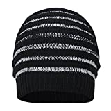 FabSeasons WC59 Acrylic Skull Cap, Men's Free Size (Black)